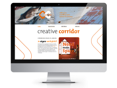 creativecorridor responsive website