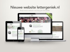 Nieuwe website lettergeniek.nl