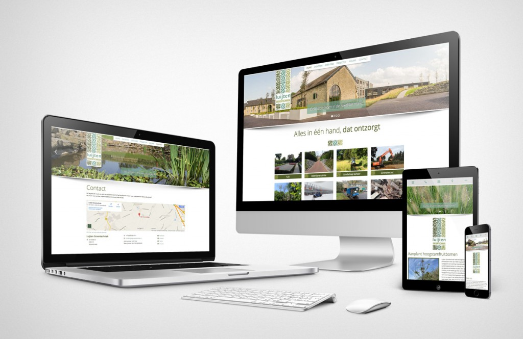 Nieuwe responsive website laten maken